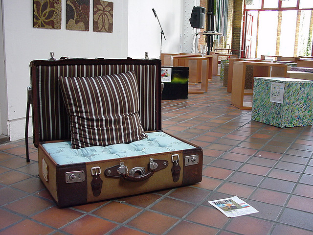 luggage sofa