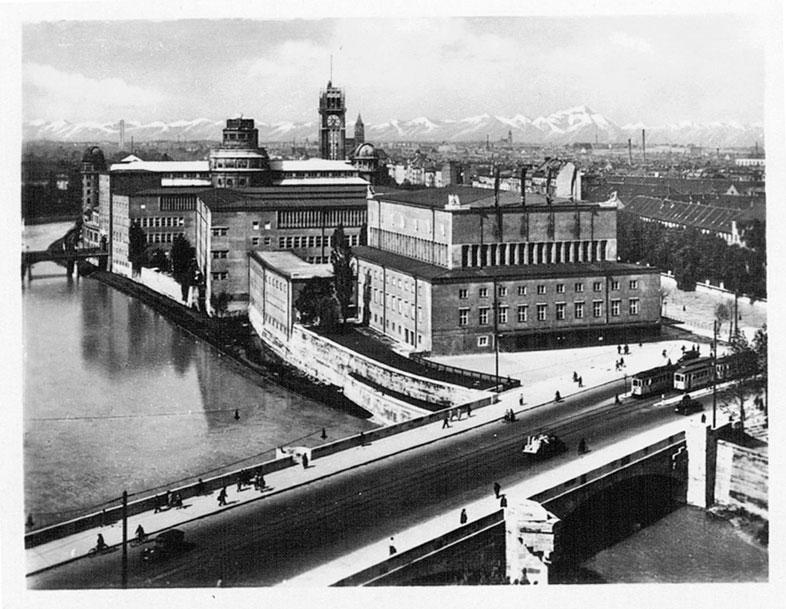 Deutsches Museum. München 30er.