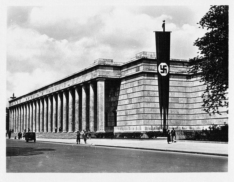 Haus der Deutschen Kunst. München 30er.