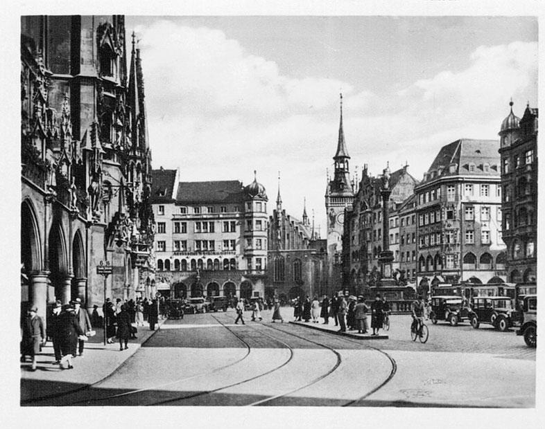 Marienplatz. München 30er