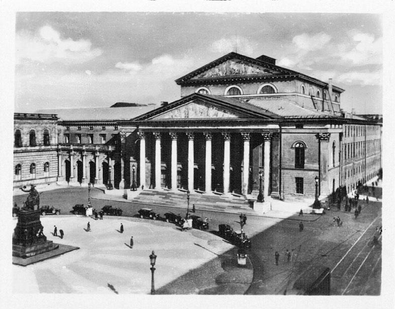 Nationaltheater. München. 30er