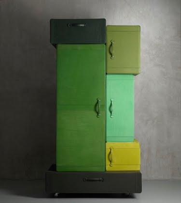 a Pile of Suitcases by Maarten De Ceulaer