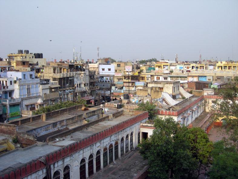 Skyline. Old-Delhi