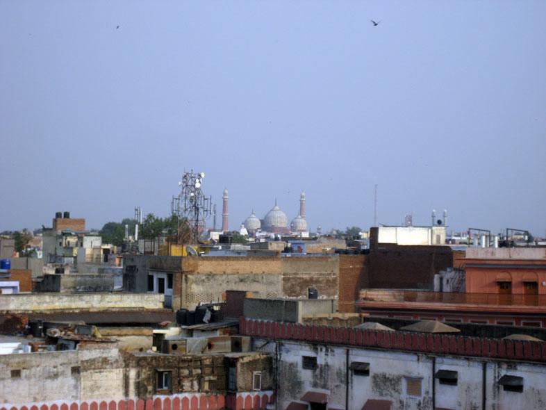 Delhi. Skyline