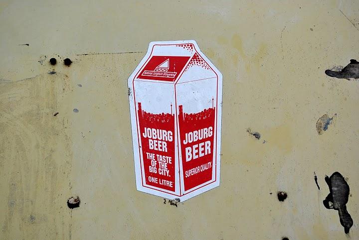 Joburg Beer im Tetrapack