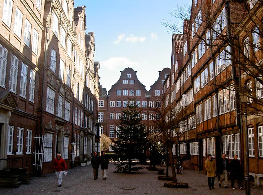 Hamburg Gängeviertel