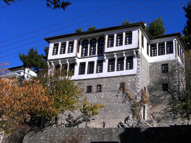 kastoria. traditionelle makedonische Architektur