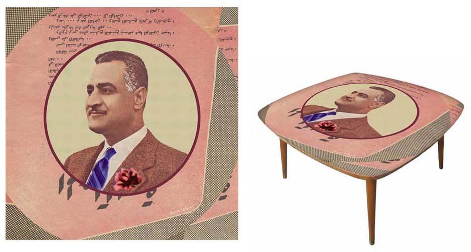 Nasser Couchtisch
