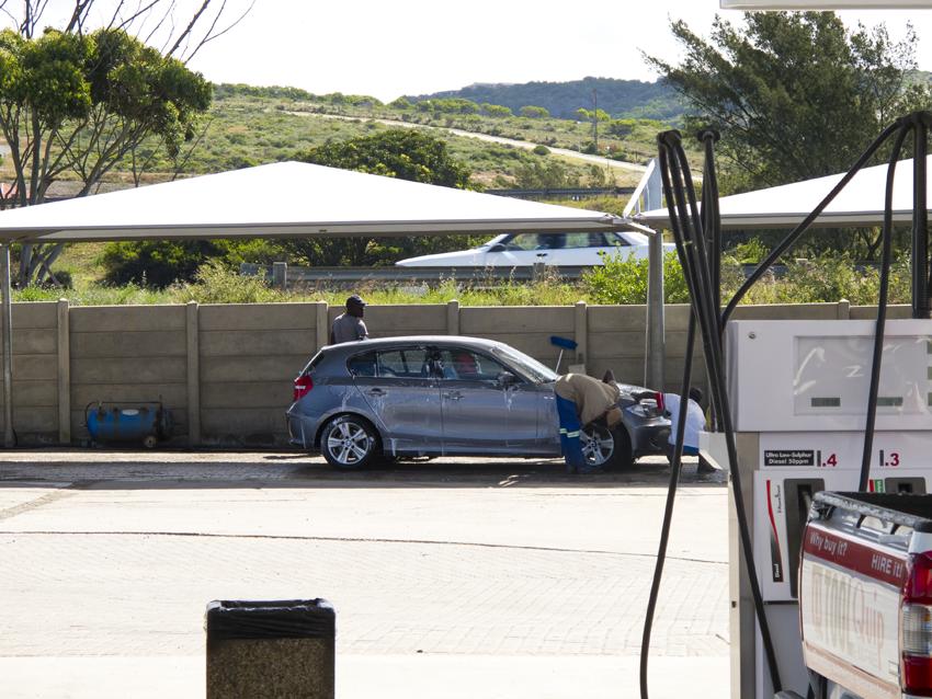 Südafrika Tankstelle