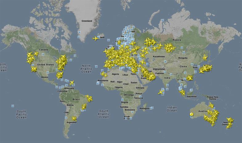 Flugzeug Invasion