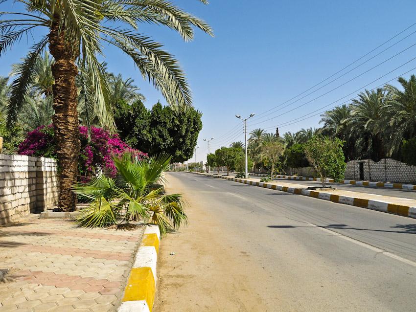 Ägypten Kharga Strasse