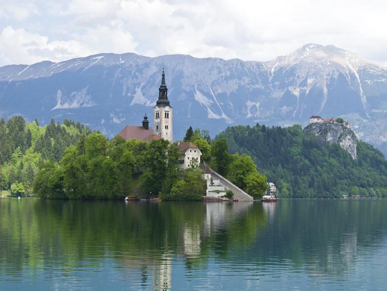 Slowenien Blender See, Blejsko jezero