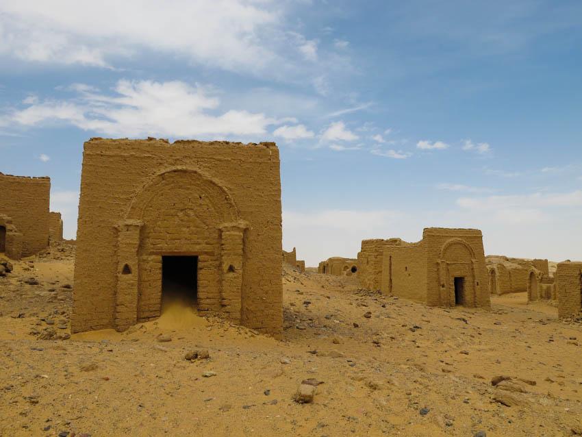 Ägypten Oase Kharga - Ältester christlicher Friedhof der Welt