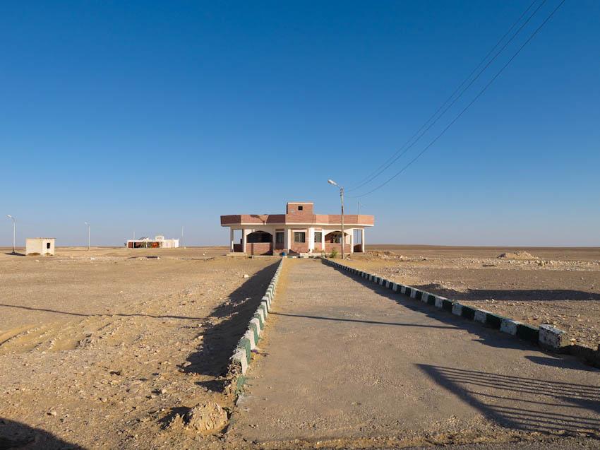 Ägypten Oasen Kontrollstation