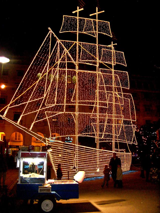 Thessaloniki Weihnachtsdeko