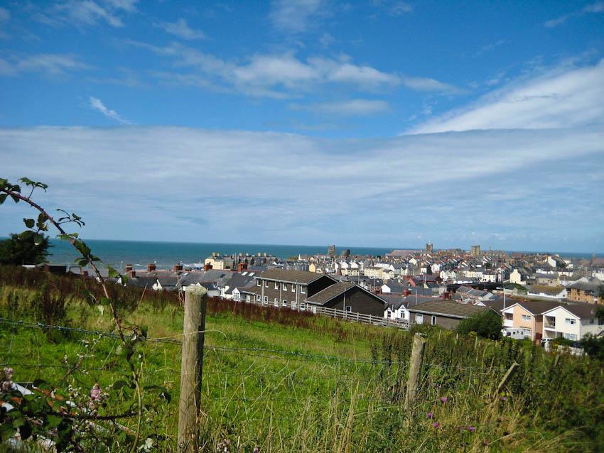 Wales, Blick über Aberystwyth