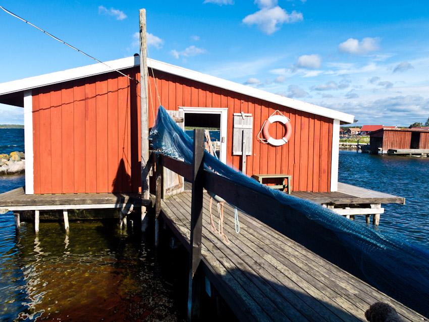 schweden smaland fischerhütte