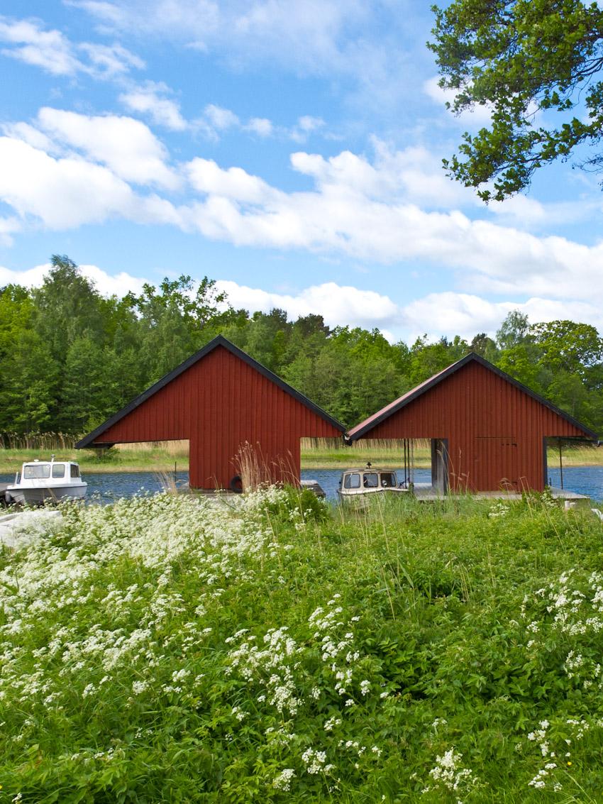 schweden smaland fischerhütten