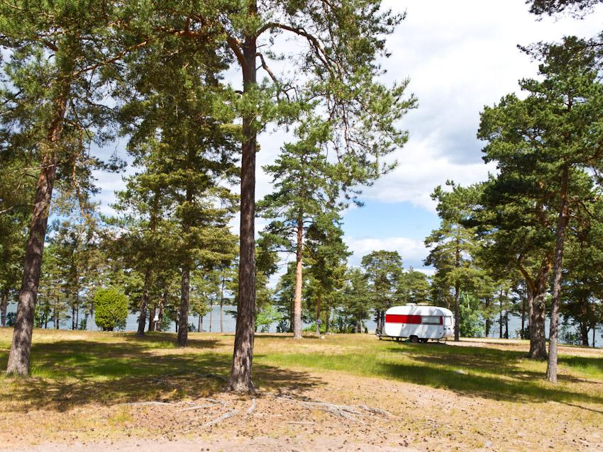 schweden smaland Küste Campingwagen