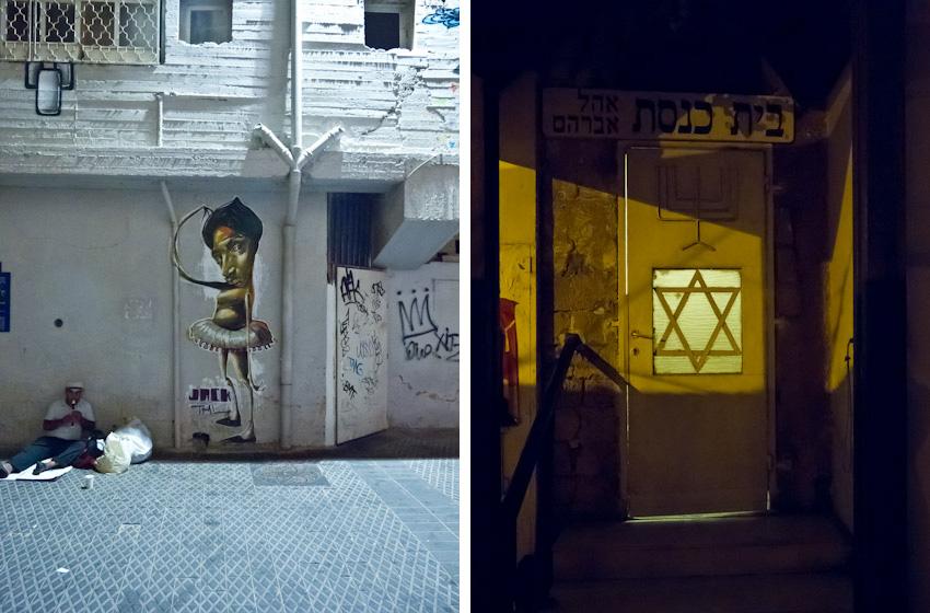 Tel-Aviv-abends