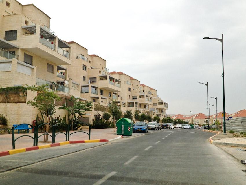Isralische Siedlung im Westjordanland