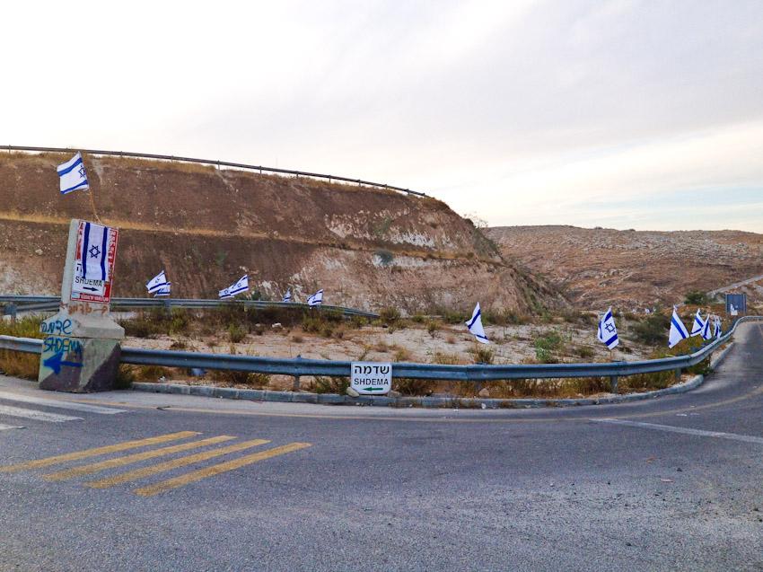Isralische neue Siedlung Westjordanland
