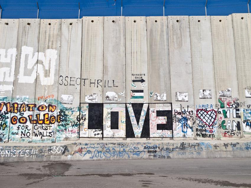 Mauer Westjordanland Streetart-3474