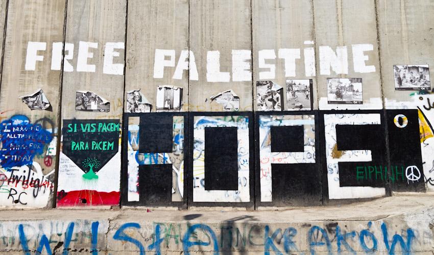 Mauer Westjordanland Streetart-3476