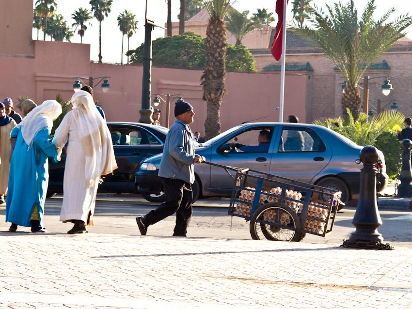 Marrakesch Verkehr
