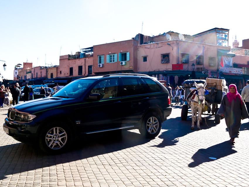 Marrakesch Altstadt Kontraste