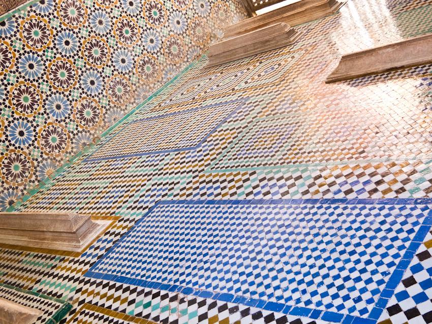 Marrakesch Friedhof Saadier-Gräber