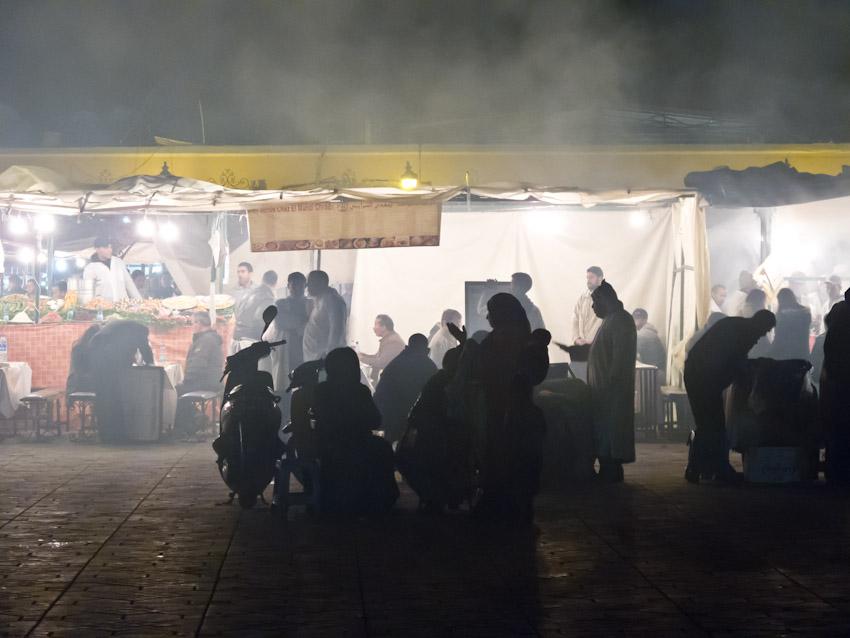 Marrakesch Jeema el Fna nachts