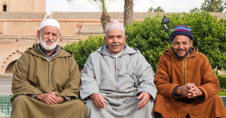 Marrakesch-einheimische