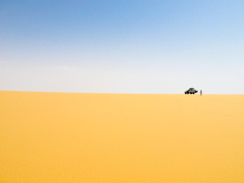 Ägypten Wüste libysche-5390