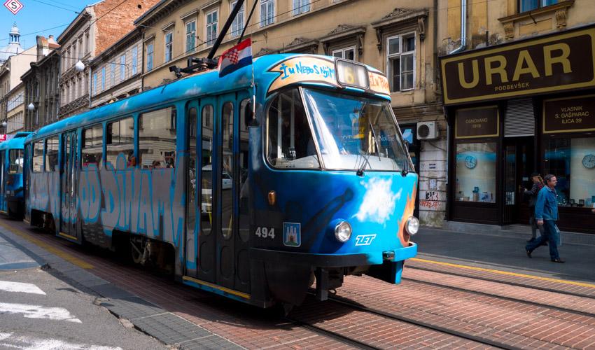 Zagreb Strassenbahn-1020288