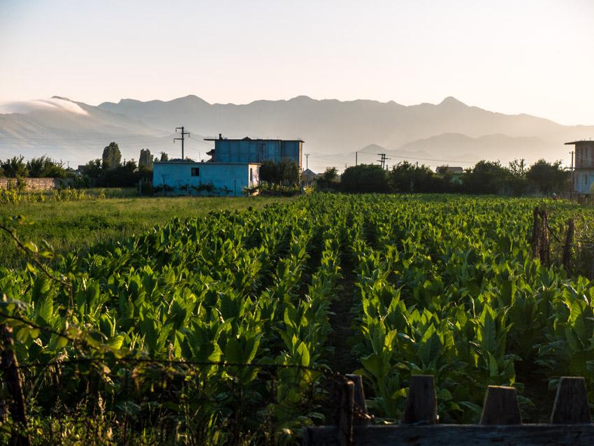 Albanien im Norden.