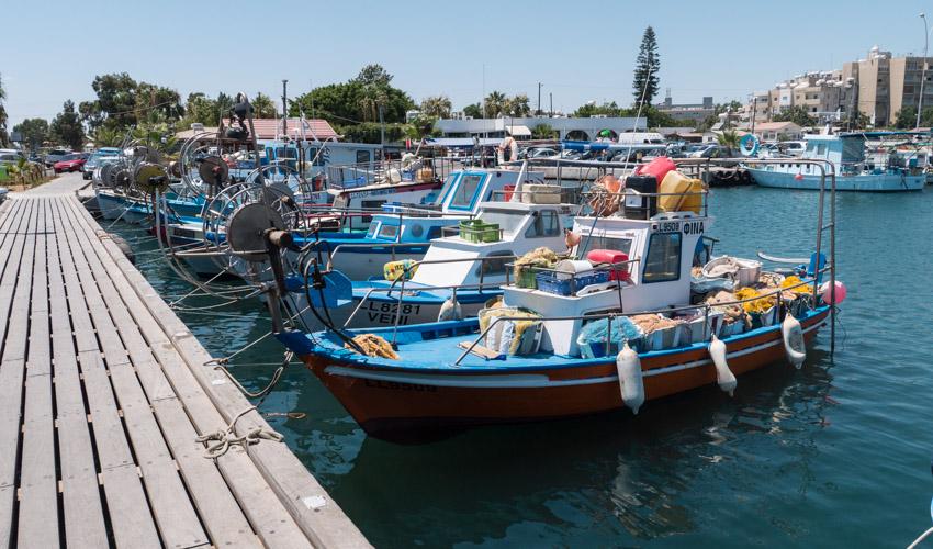 Zypern Fischerhafen