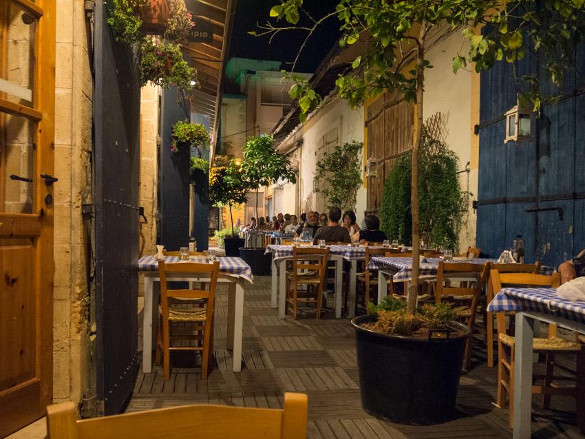 Zypriotisches Essen