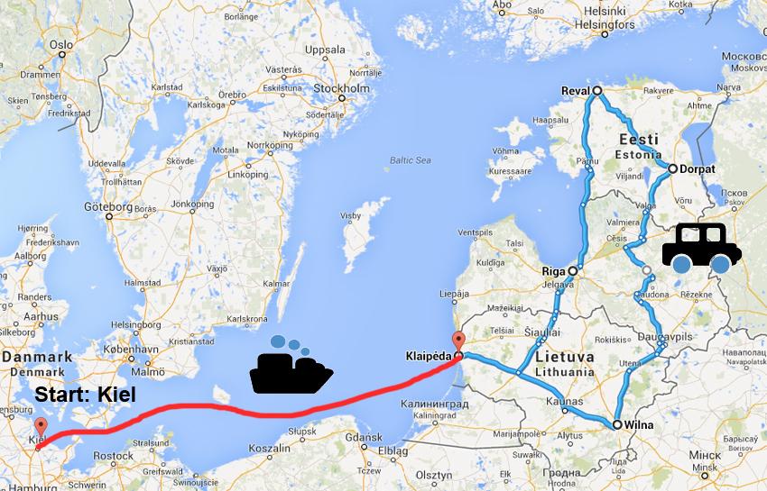 gro e baltikum rundreise mit dfds seaways zu gewinnen. Black Bedroom Furniture Sets. Home Design Ideas