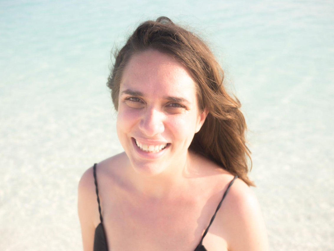 Moi auf den Malediven