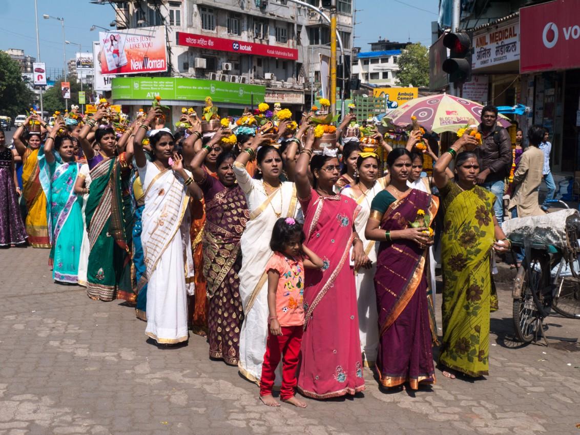 Strassenfest in Mumbai