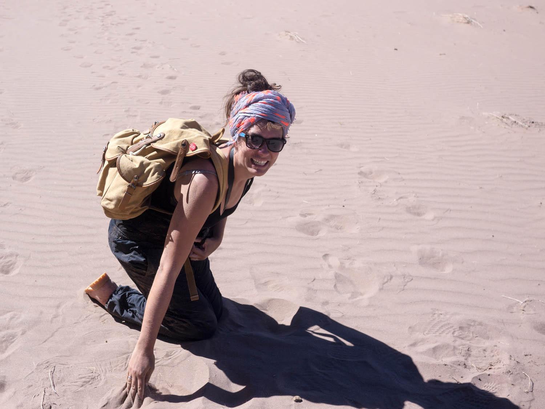 Reisegepäck Rucksack Wandern