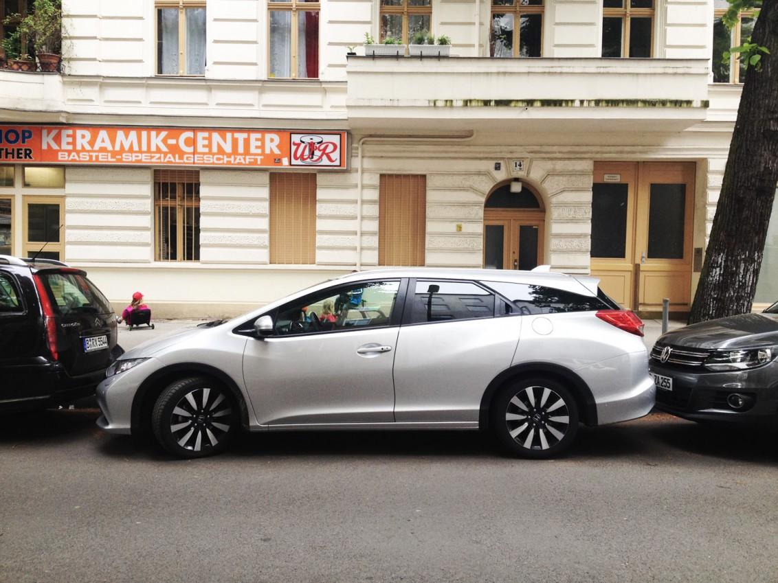 Civic Tourer Honda Größe zeigen
