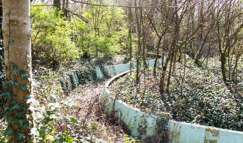 Spreepark Wasserachterbahn