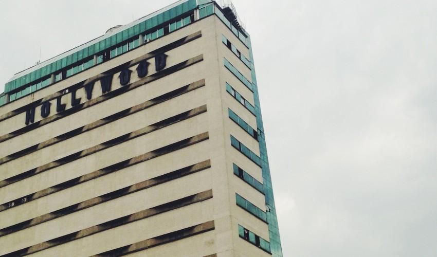 Gebäude im Zentrum Medellin
