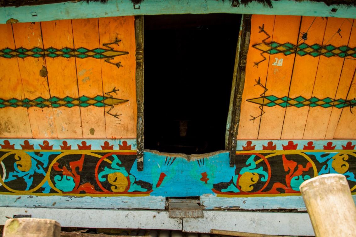 Architektur im indonesischen Sumatra