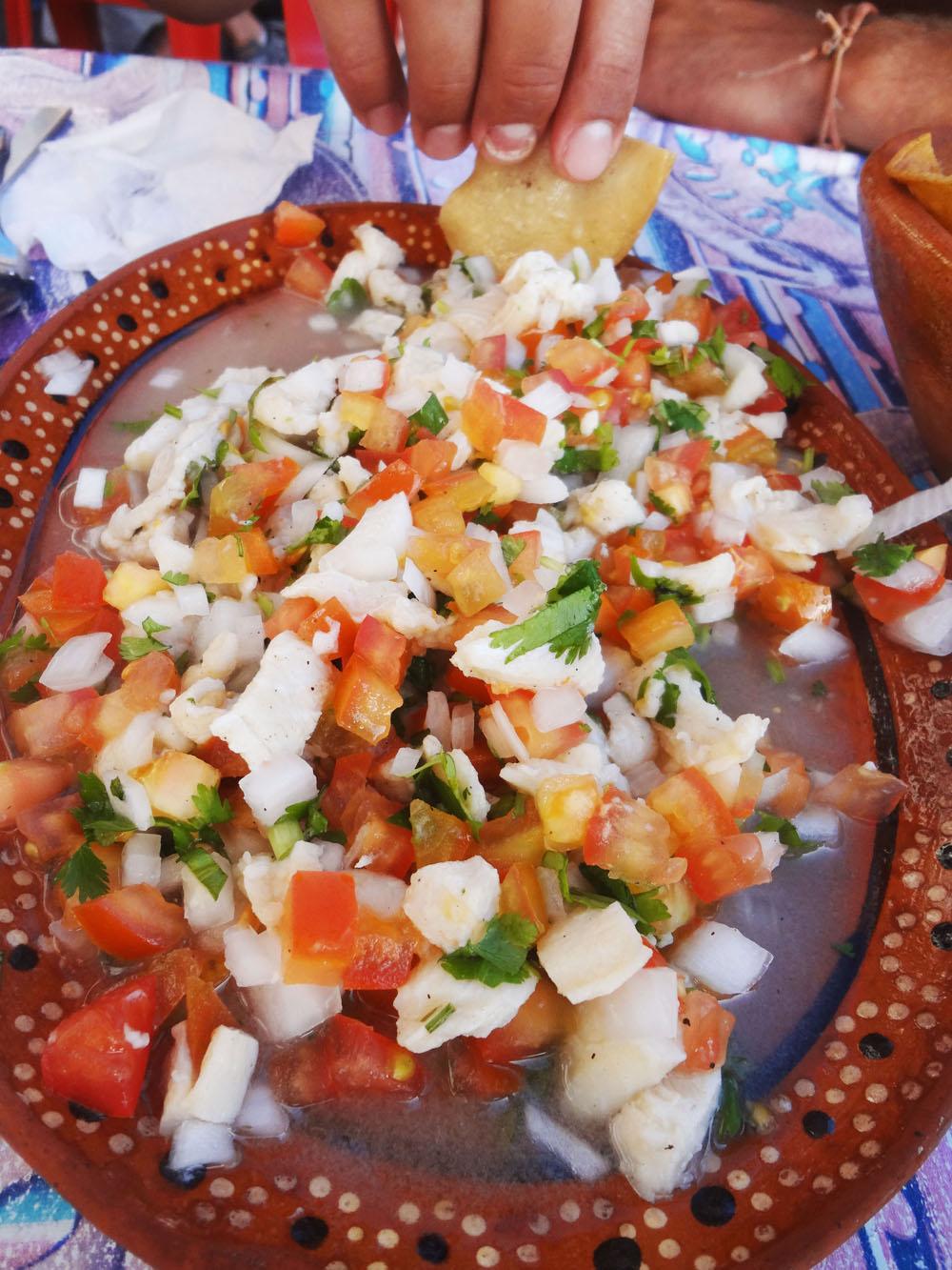 mexikanisches Ceviche