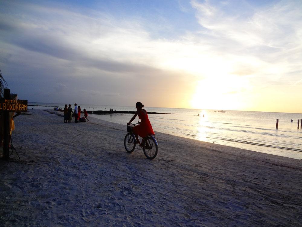 Mexiko am Strand