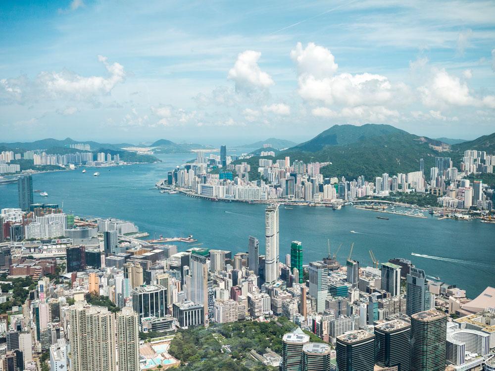 Hong Kong Vogelperspektive