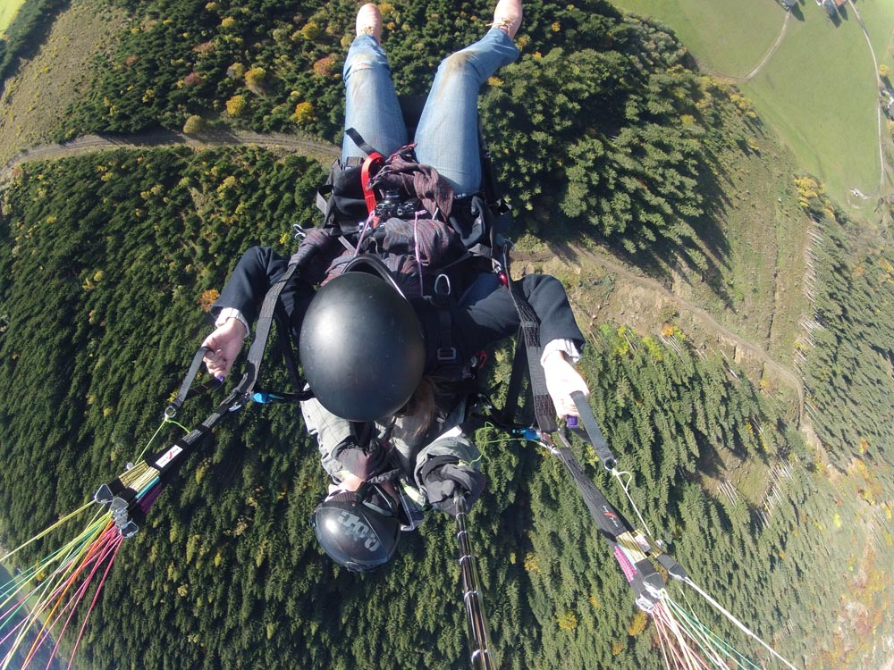 Paragliding Werfenweng